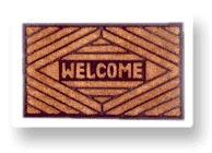 rubberized coir door mats