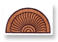 rubberized coir mats