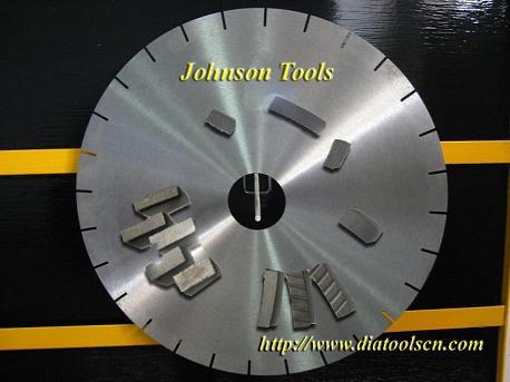 diamond segments blade