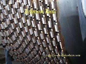 multi blades segments