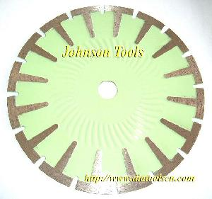 sintered t shape segmented blade