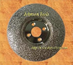 vacuum brazed diamond grinding cup wheel