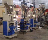 packaging machines filling sachet