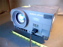 nec multisync mt1030 digital projector stock 3192 1501