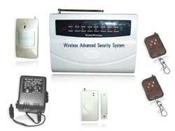 intellectual home burglar alarm system