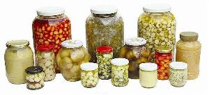 garlic jars canned