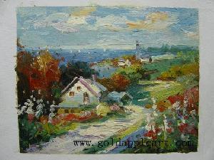 handmade oil paintings landscape