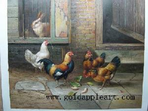 oil painting reproductions handmade animals canvas duplicating