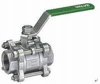 stainless steel 3 pieces ball valve manufacturer exporter supplier