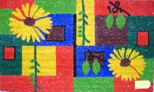 textile floor coverings door mat coco rubber rug pvc antiskid mats geotextiles