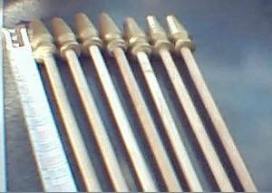 wooden flagpole