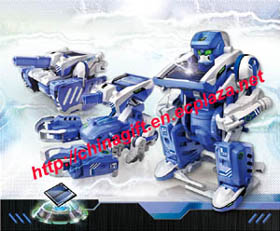 t3 solar powered transforming robot
