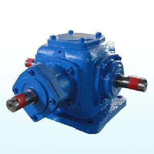 right angle bevel gear reducer 90 degree gearbox miter drive