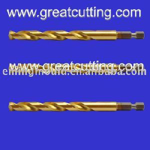 hss twist drills hex shank drill bits cutting