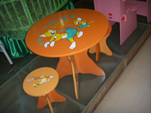 nursery furniture table chair