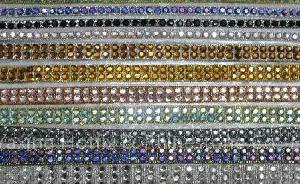 crystal ribbon belt hotfix
