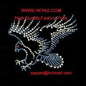 eagle rhinestone pattern motif