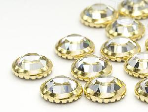 hotfix metal edged rhinestones