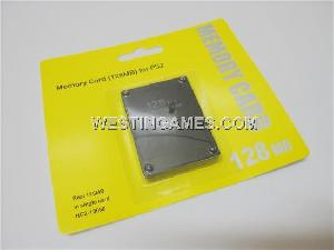 128mb 128 mb memory card ps2 playstation 2 console