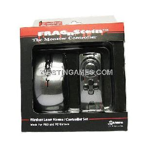 fragnstein wireless laser mouse controller ps3 pc