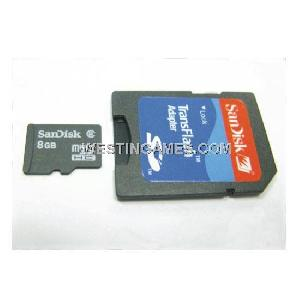 sandisk micro sd transflash 8gb memory card