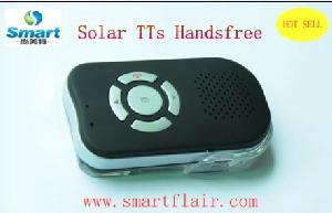 solar bluetooth car kit