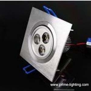 3 1w cree led downlights ceiling lights square shape