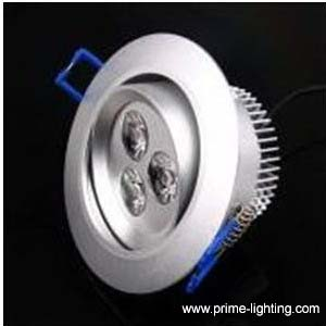 3w led downlights ceiling lights recessed ce rohs approval