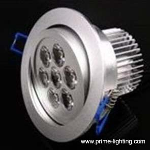 recessed 7w cree led downlight ceiling light