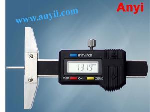 digital depth gauges slim rod