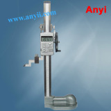 column digital height gauge hand wheel