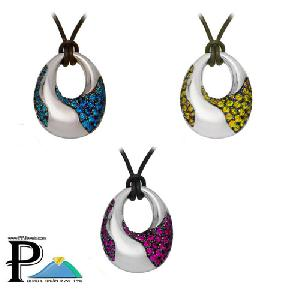 fashion jewelry lava pendant 925 sterling silver