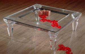 acrylic coffee table j916216