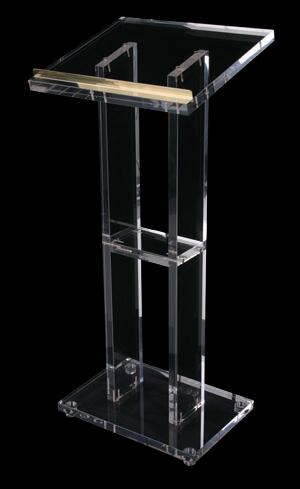acrylic lectern j1012284