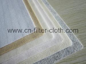 nonwoven needle punched felt fabric woven filter cloth bag