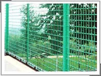 pvc diamond mesh fence