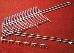 stainless steel grill grid basket