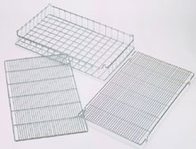 wire grill grid rack