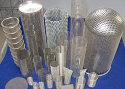 woven wire mesh filter cartridge