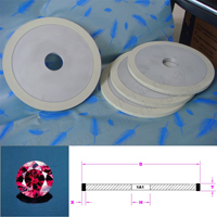 india ceramic bond diamond bruting wheel polishing nature