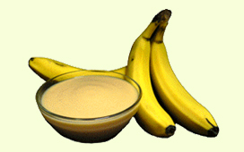 aseptic banana puree