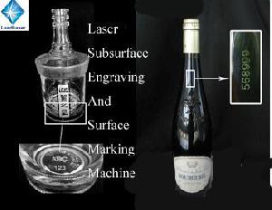 glass bottle laser marking machine