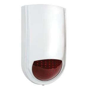 wireless outdoor strobe siren weatherproof waterproof vstar security
