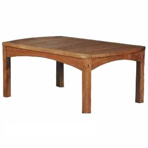 teak swing coffee table knock teka outdoor garden furniture solid