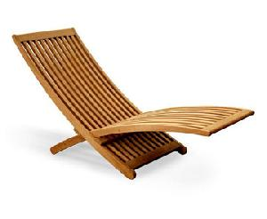 teak worm folding sun lounger chair teka outdoor garden furniture jepara java indonesia
