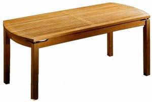 teka solid kiln dry tea table oval short knock teak outdoor garden furniture