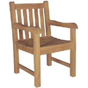 teka garden arm chair knock teak outdoor furniture