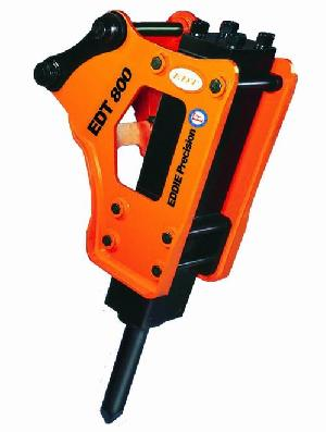 medium duty excavator hydraulic breaker hammer rock