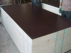 Chinese Film Faced Shuttering Plywood For Concrete Forms / Forming