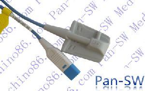 adult silicone soft tip hp spo2 sensor l 1 5m 3m